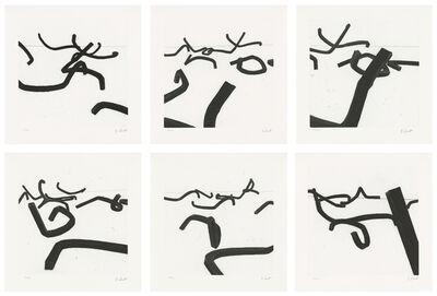 Bernar Venet, 'Lignes Indéterminées', 1996
