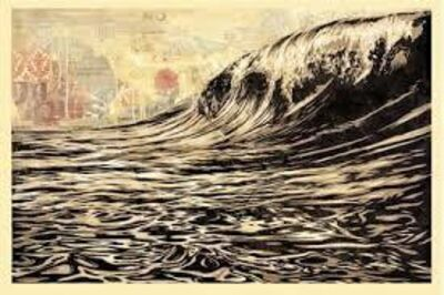 Shepard Fairey, 'Dark Wave', 2018