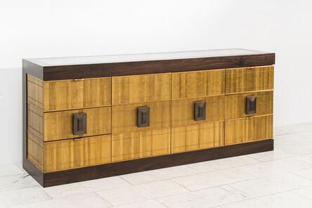 Damian Jones, 'Damian Jones, Brass and Marble Console, USA', 2021