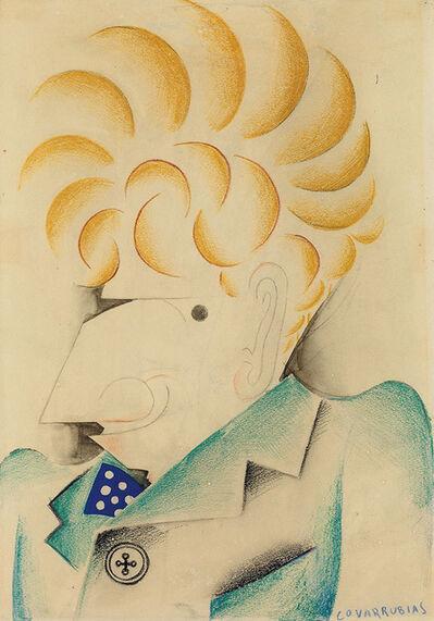 Miguel Covarrubias, 'Portrait of Alexander Brook', 1930