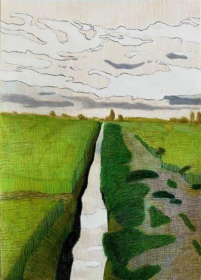 Per Adolfsen, 'Canal in the Fields II', 2021