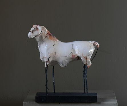 Carl Dahl, 'White bull #2', 2020