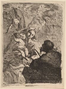 Paul Troger, 'The Rest on the Flight into Egypt', 1721