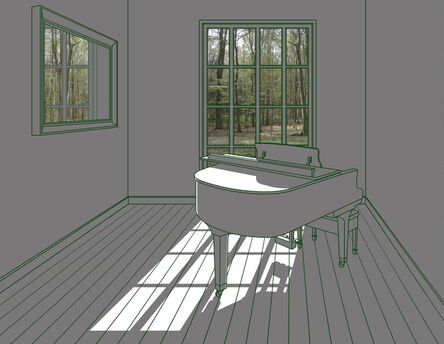 Sun-tae Hwang, 'The Space with Sunshine - A Piano Room', 2016