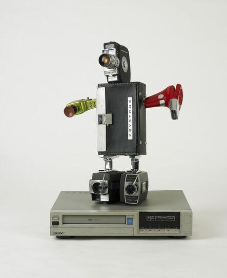Nam June Paik, 'Robot (Keystone Cop)', 1993
