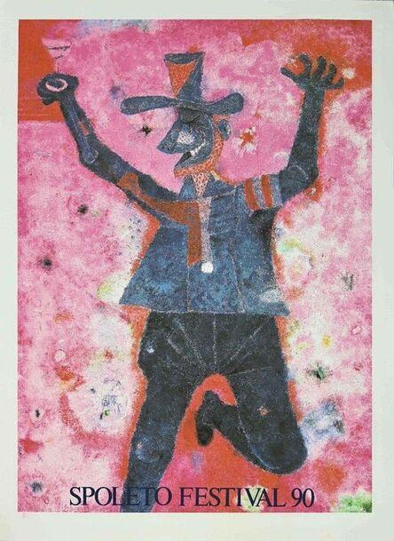 Rufino Tamayo, 'Spoleto Festival', 1990