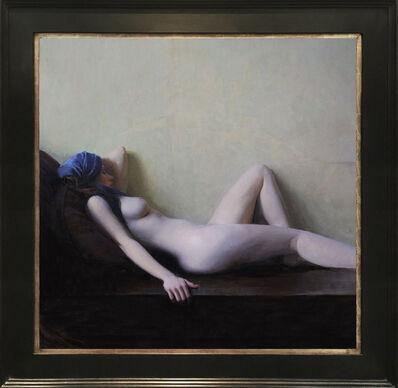 Jeremy Lipking, 'Reclining Nude', 2017