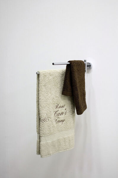 Daniel Jacoby, 'Kant Can't Camp (Alliteration) - Towel Phrases series', 2012