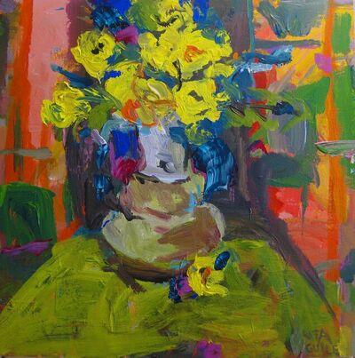 Rita Guile, 'Yellow Roses ', 2018