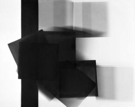 William Klein, 'Big Black Stripe + Moving Square, Paris', 1952