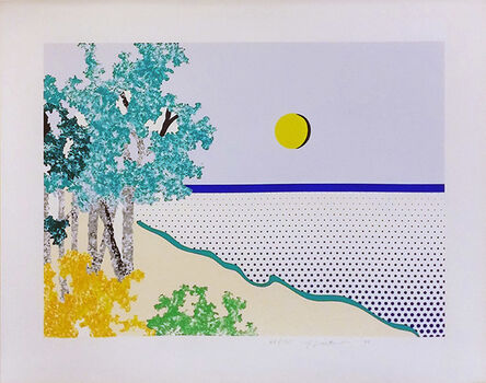 Roy Lichtenstein, 'TILTED', 1996