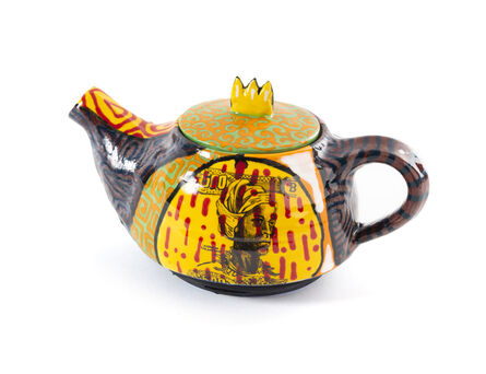 Roberto Lugo, 'Nanny of the Maroons Teapot', 2020
