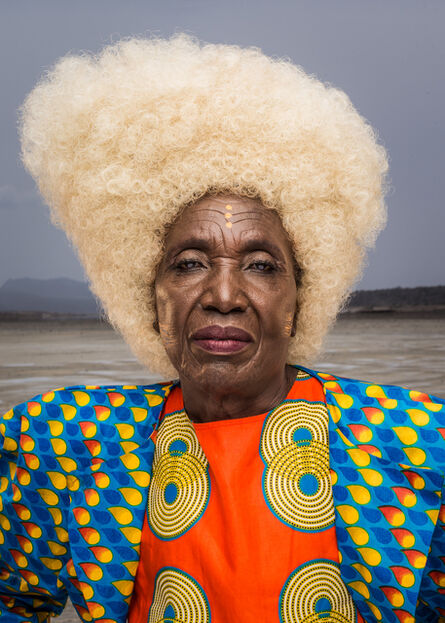 Osborne Macharia, 'Magadi Portrait 3', 2017