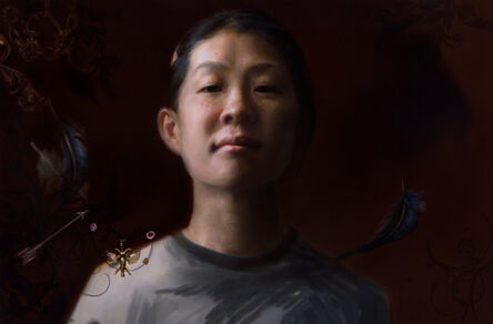 Kate Sammons, 'Self Portrait, Taking Flight', 2010