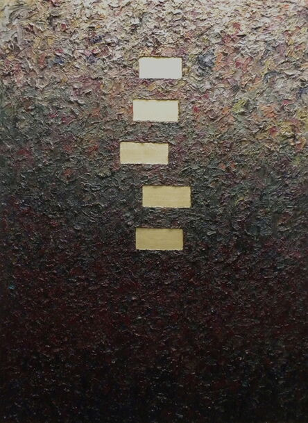 Charles Eckart, 'Five Gold Bars', 2016
