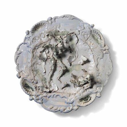 Lucio Fontana, 'Senza titolo', 1950
