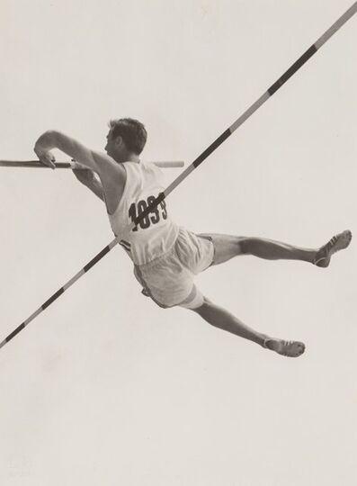 Leni Riefenstahl, 'Pole Vaulter, Japan', 1936