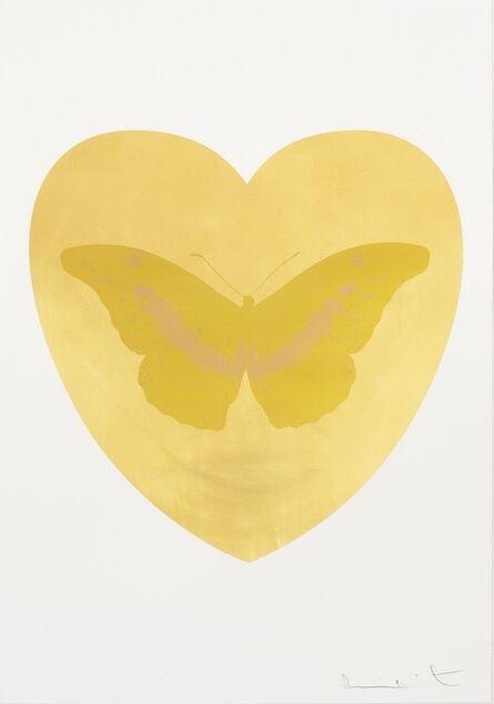 Damien Hirst, 'I Love You - gold leaf, oriental gold, cool gold ', 2015