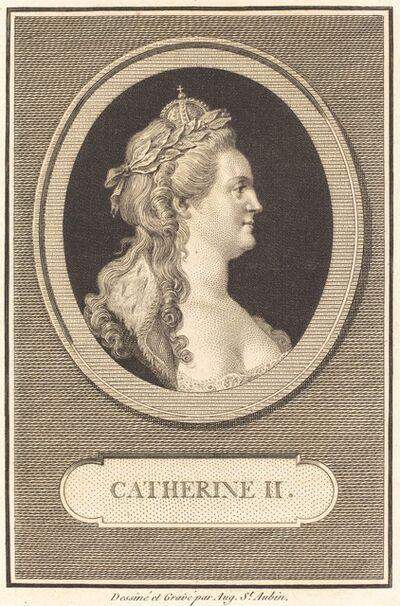 Augustin de Saint-Aubin, 'Catherine II', 1802