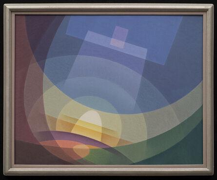 Raymond Jonson, 'Cosmic Theme No. Five', 1939