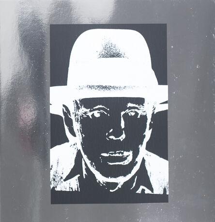 Andy Warhol, 'Joseph Beuys on Heavy Silver Metallic Paper', 1988