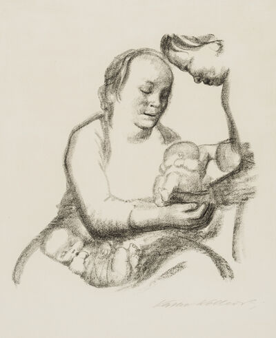 Käthe Kollwitz, 'Mothers, Give of Your Abundance!', 1926