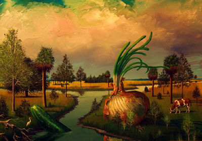 Bill Mead, 'Onion, Cucumber and Cow', 2014