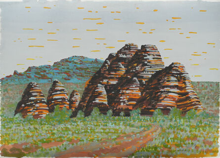 Victor Majzner, 'Cathedrals', 2001