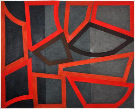 David Tremlett, 'FORM AND RHYTHM #5', 2014