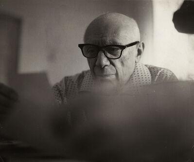 Brassaï, 'Picasso Reading', 1966/1966