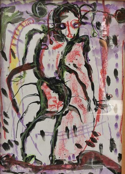 Obodje, 'Apprentissage de la forêt 4', 2020