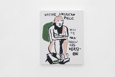 Alvaro Seixas, 'Untitled Painting (Native American Piece)', 2017