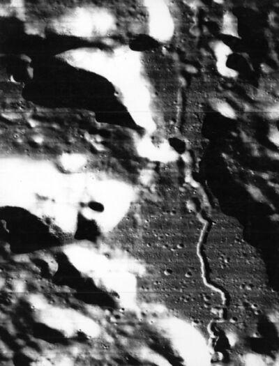 NASA, 'The Moon - The Alpine Valley', 1967