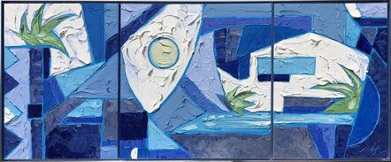JD Miller, 'Blue Nirvana Triptych', ca. 2017
