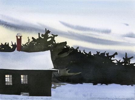 Susan Headley Van Campen, 'Peabody Cottage Dusk, December 10'
