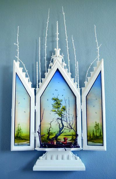 Edward Walton Wilcox, 'Treasures in Heaven', 2014