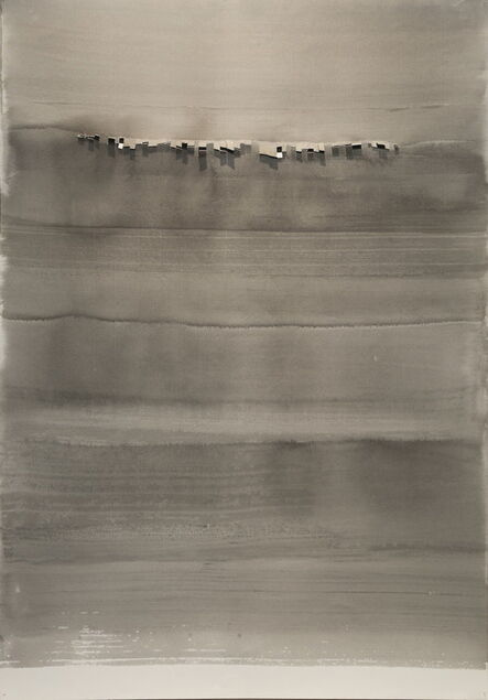 Chu Weibor, 'Gray Night', 1966