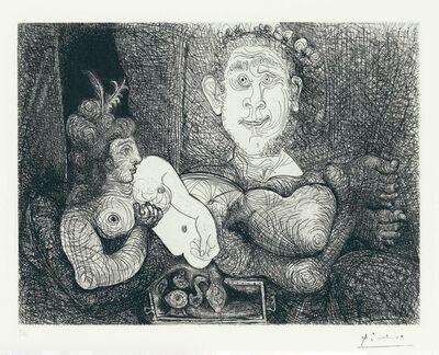 Pablo Picasso, 'La Coulisses De Tableau', 1970