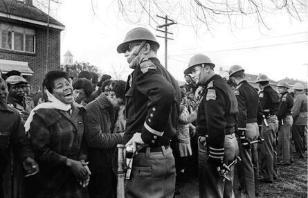 Steve Schapiro, 'Demonstrator and Troopers, Selma', 1965