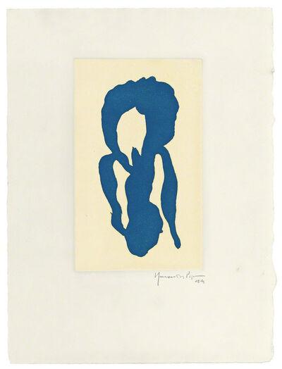 Joan Hernández Pijuan, 'Iris blau 10', 1994