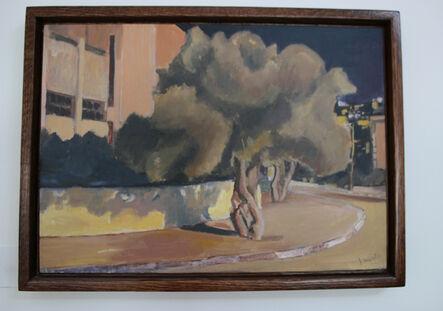 Johny Andonia, 'Olive Trees by the Road', 2015