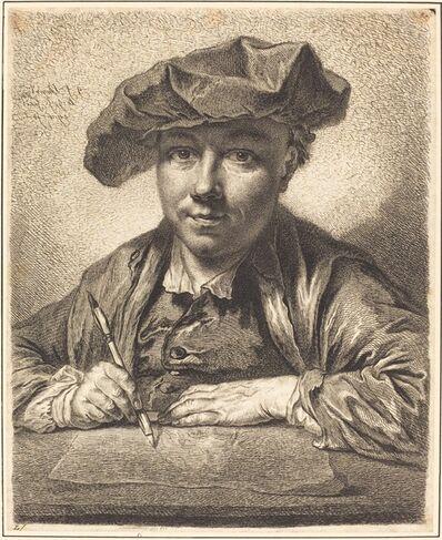 Georg Friedrich Schmidt, 'Self-Portrait, Drawing', 1752