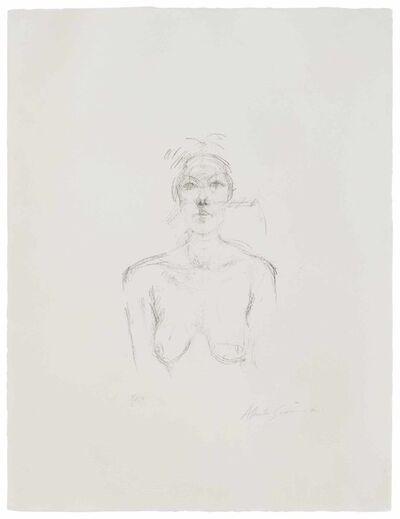 Alberto Giacometti, 'Buste II', 1960