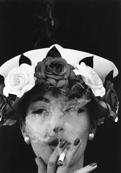 William Klein, 'Hat + 5 Roses, Paris'