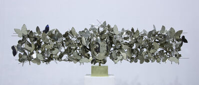 Manolo Valdés, 'Mariposas Plateadas III', 2017
