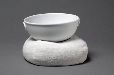 Christian Astuguevieille, 'Jatte à lait sur gonfle (Milk bowl on pillow)', 2011