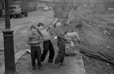 John 'Hoppy' Hopkins, 'Bomb Site Kids, West London', ca. 1961