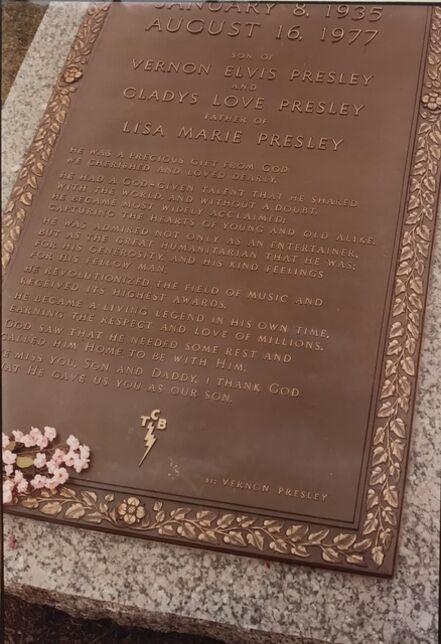 William Eggleston, 'Untitled (Elvis's Grave), Graceland, Memphis, Tennessee', 1982