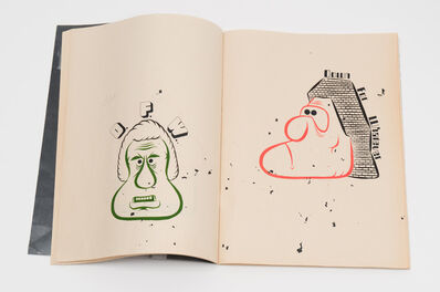 Barry McGee, 'Zine with drawings (1)', 2014