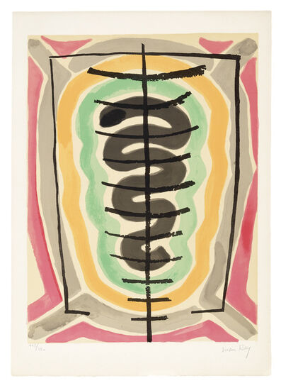 Man Ray, 'De l'Origine des especes par voie de selection irrationnelle (III)', 1971